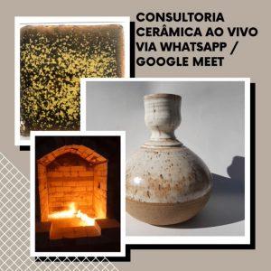 Curso de Cerâmica online - Consultoria Cerâmica ao Vivo